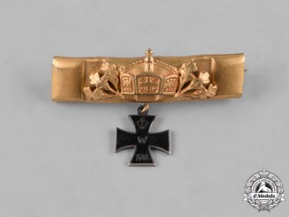 Germany, Imperial. An Iron Cross Patriotic Sweetheart Pin