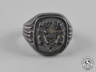 Germany, Third Reich. A Third Reich Period Patriotic Ring