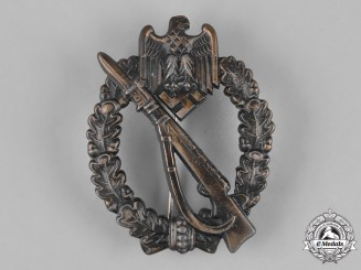 Germany, Heer. An Infantry Assault Badge, Bronze Grade, by Josef Feix & Söhne