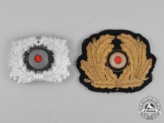 Germany, Kriegsmarine. A Pair of Visor Cap Cockades