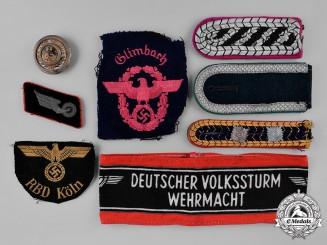 Germany, Third Reich. A Lot of Uniform Insignia