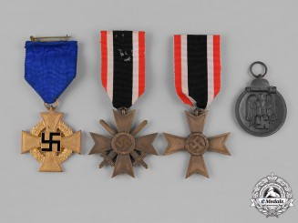 Germany, Third Reich. A Lot of Second War Period Medals