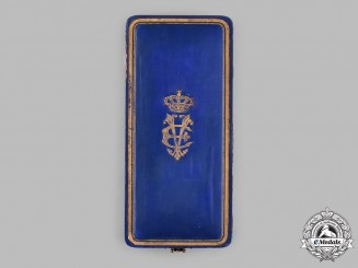 Italy, Kingdom. A Military Order of Savoy, II Class Grand Officer Case, c.1935
