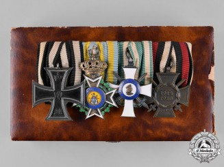 Germany, Imperial. An Order of St.Henry & Albert Order Medal Bar