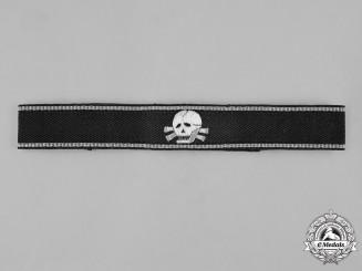 Germany, SS. An SS-Totenkopfverbände Wachtsturmbann Cuff Title