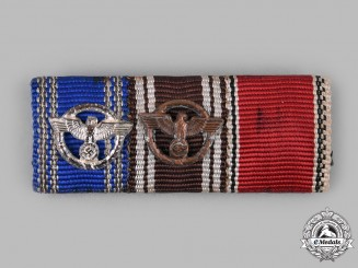 Germany, NSDAP. A NSDAP Medal Ribbon Bar