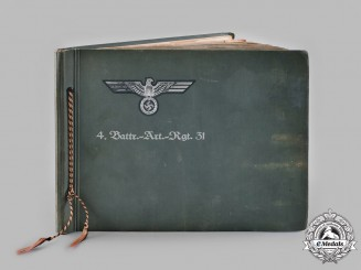 Germany, Heer. A Pre-Second World War German Army Photo Album