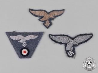 Germany, Luftwaffe. A Group of Luftwaffe Uniform Eagle Insignia