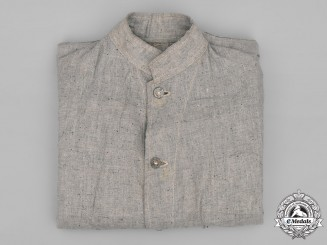 United Kingdom. A POW Summer Work Shirt, c.1943