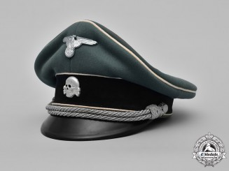 Germany, Waffen-SS. An Officer's Visor Cap, by Erstklassig