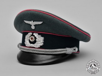 Germany, Heer. An Army Panzer Officer's Visor Cap, by Erel