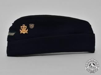 Germany, Kriegsmarine. An EM/NCO Garrison Cap