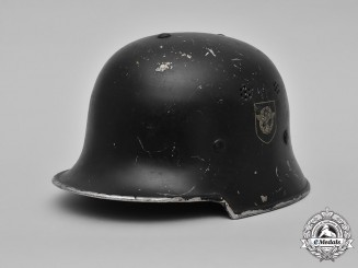 Germany, Ordnungspolizei. A Civic Police Steel Helmet, by DRP Thale