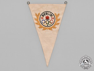 Germany, Third Reich. A Berlin Olympic 1936 Games Pennant