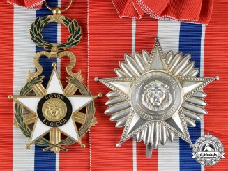 Paraguay. A National Order of Merit, Grand Cross, Type III, c.1960