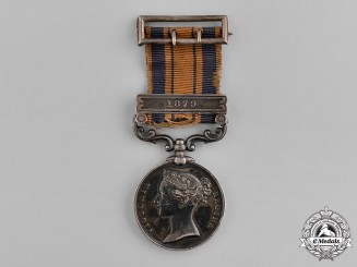 United Kingdom. A South Africa Medal 1877-1879, 2nd Battalion, 4th (King's Own) Regiment of Foot