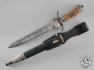 Germany. A Deutsche Jägerschaft (Hunting Association) Cutlass, by Eicikhorn of Solingnen