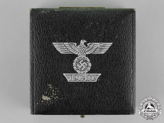 Germany. A Case for a Clasp to the Iron Cross 1939 First Class, First Type