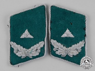 Germany. A Set of Luftwaffe Civil Inspector Collar Tabs