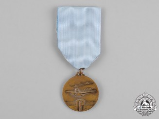 Italy, Kingdom. An Italy to Brazil Atlantic Ocean Crossing Medal