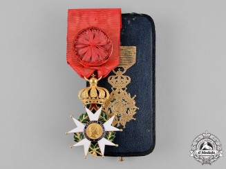 France, Second Empire. A Legion D'Honneur in Gold, Officer, c.1860