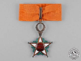 Morocco. An Order of Ouissam Alaouite, III Class Commander, by Arthus Bertrand, c.1920