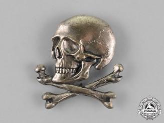 Italy, Kingdom. A Black Brigade Skull Badge