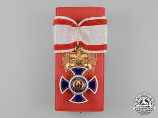 Montenegro. An Order of Danilo I, Commander, by V.Mayer, c.1900
