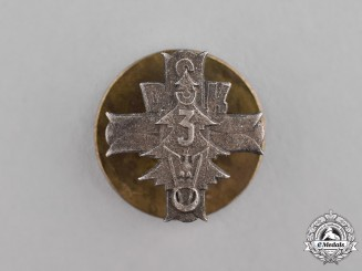 Poland, Republic. A 3rd Carpathian Rifle Division Badge