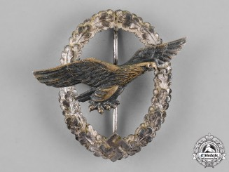 Germany, Luftwaffe. A Private Purchase Glider Pilot Badge
