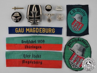 Germany. A Collection of Badges, Insignia, and Photographs Belonging to an Early Der Stahlhelm member