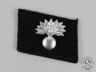 "Germany. A Single Waffen-SS 34th Volunteer Grenadier Division ""Landstorm Nederland"" Collar Tab"