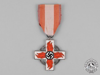 Germany. A Fire Brigade Service Cross; Second Class