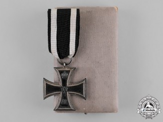Prussia, State. An Iron Cross 1914 2nd Class in Case