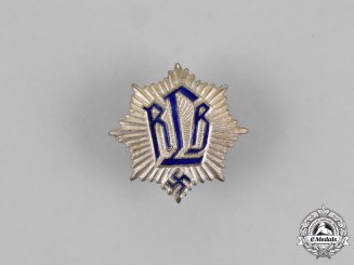 Germany. An RLB (Air Raid Protection) Membership Badge, by H. Aurich