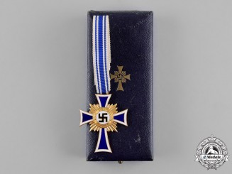 Germany. A 1st Class Cross of Honour of the German Mother with Case