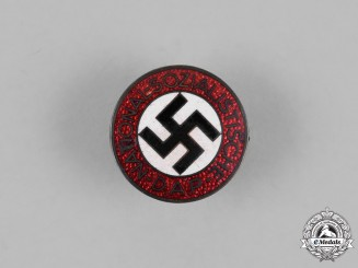 Germany. A NSDAP Party Member's Lapel Badge, by Karl Hensler