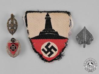 Germany. A Lot of Second War German Veteran's Association Insignia