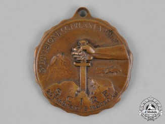 Italy, Kingdom. A 3rd CCNN Division Scire Region of Ethiopia Campaign Medal