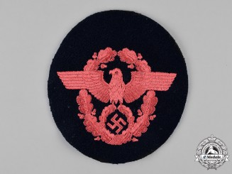 Germany. A Fire Police Sleeve Patch