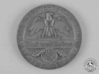 "Germany. A 1939 Reichsnährstand Exhibition ""Fischwares"" Table Medal"
