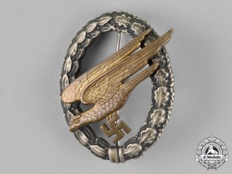 Germany, Luftwaffe. A Fallschirmjäger Badge, by F.W. Assmann & Söhne