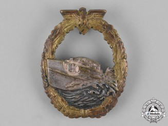 Germany, Kriegsmarine. An E-Boat Badge, First Type, by Schwerin
