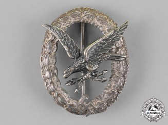 Germany, Luftwaffe. A Radio Operator & Air Gunner Badge, by F.W. Assmann