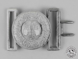 Germany, Wehrmacht. An Officer's Belt Buckle