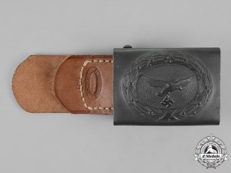 Germany, Luftwaffe. An Standard Service Belt Buckle, by F.W. Assmann, c. 1941