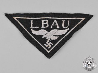 Germany, Luftwaffe. A Construction Unit Cloth Breast Insignia