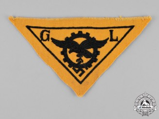 Germany, Luftwaffe. A Factory Supervisor Cloth Breast Insignia