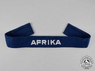 "Germany, Luftwaffe. An ""Afrika"" Campaign Cuff Title"