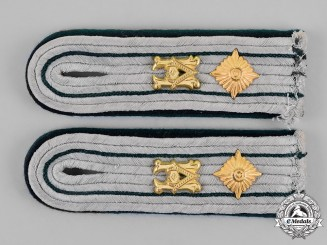 Germany, Heer. A Set of Administration Shoulder Boards